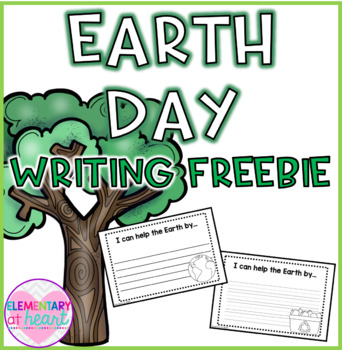 Earth Day Writing Pages FREEBIE