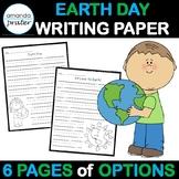 Earth Day Writing Paper Freebie!