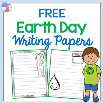 Earth Day Writing Papers FREE