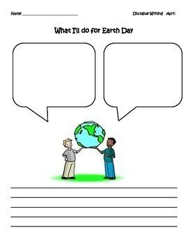 Earth Day: Writing Picture Prompt for Earth Day