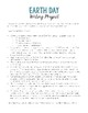 Earth Day Writing Project & Lesson Plan