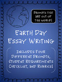 Earth Day Writing for Middle School {Narrative & Persuasive}