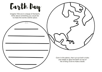 Earth Day Writing Prompt