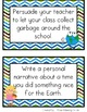 Earth Day Writing Prompt Cards Freebie