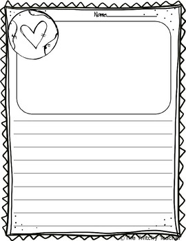 Earth Day Writing Prompt Freebie!