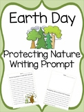 Earth Day Writing Prompt: Protect Nature