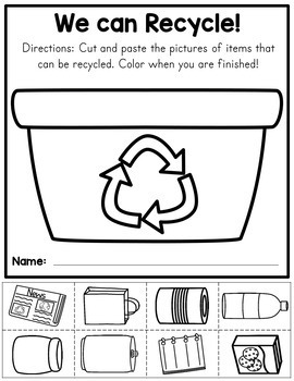 Earth Day Worksheets and Writing Prompts