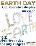Earth Day Collaborate Display