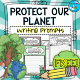 Earth Day Writing Prompts (Reduce, Reuse, Recycle)