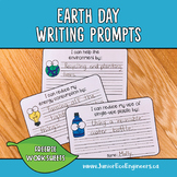 Earth Day Writing Prompts - Earth Day Bulletin Board - Ear