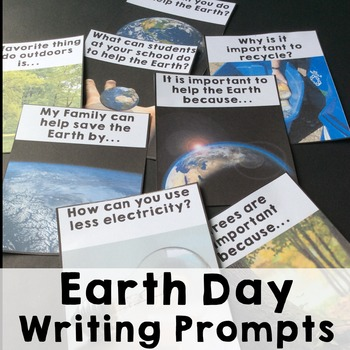 Earth Day Writing Prompts-Free!