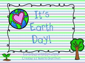Earth Day Writing Prompts Freebies