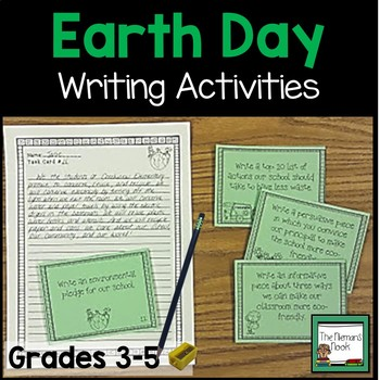 Earth Day Writing Prompts Grades 3-5