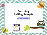 Earth Day Writing Prompts K, 1st, 2nd, 3rd, 4th
