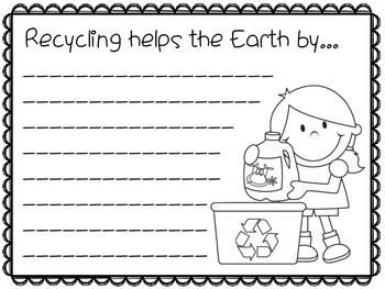 Earth Day Writing Prompts (K-2)