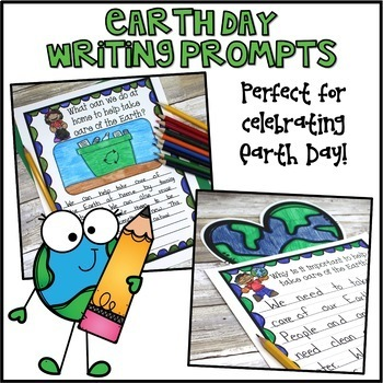 Earth Day Writing Prompts & Page Topper Craftivities