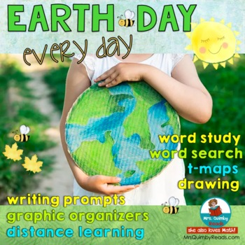 Earth Day - Writing Prompts and Printables - Grade K-2 - H