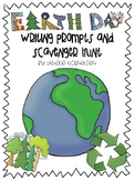 Earth Day Writing Prompts and Scavenger Hunt