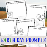 Earth Day Writing Prompts for Kids (K-3)