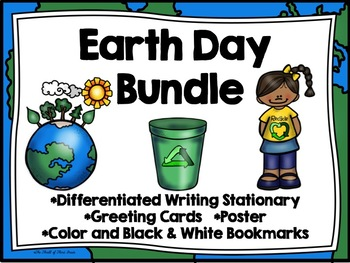 Earth Day Writing Stationary-Earth Day Greeting Cards-Eart