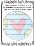 Earth Day Writing Template