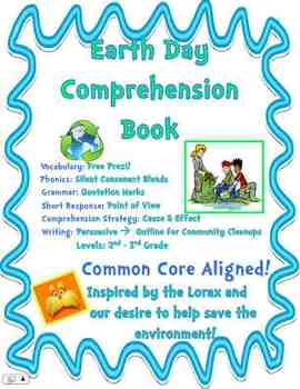 Earth Day Writing Book & Lorax Companion - Community Clean Ups