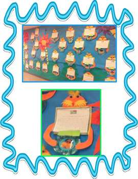 Earth Day Writing Book & Lorax Companion - Reduce, Reuse, Recycle