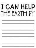 Earth Day Writing and Craftivity