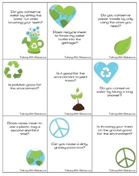 Earth Day Yes/No questions and Vocabulary