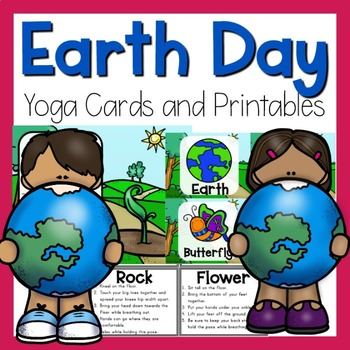 Earth Day Yoga Cards