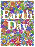 Earth Day Zentangle Mural