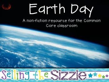 Earth Day- a nonfiction mini-unit for the Common Core Classroom