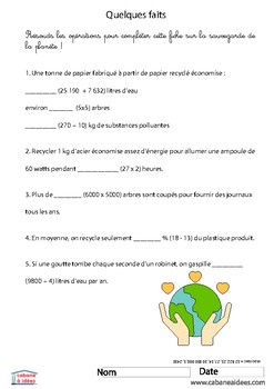 Earth Day activities pack 7-11 years
