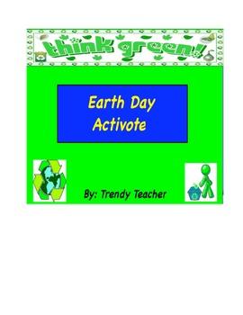 Earth Day activote flipchart