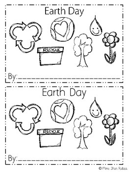 Earth Day, April, and Spring Emergent Readers
