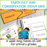 Earth Day and Conservation STEAM Unit | Science Stations f