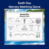 Earth Day and Environmentalism Memory Game