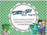 Earth Day and MORE! {Science, Math, and Literacy Activities}