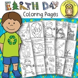 Earth Day and Recycling Coloring Pages FREEBIE