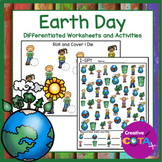 Earth Day and Recycling Differentiated Worksheets and Activities
