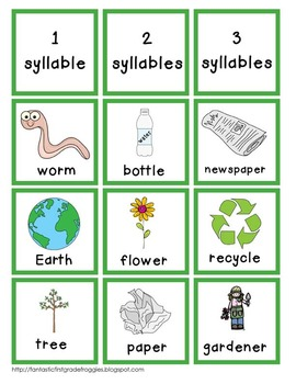 Earth Day Literacy (Recycling)