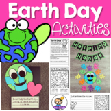 Earth Day and more - 17 literacy activities included