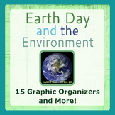 Earth Day and the Environment Graphic Organizers and Activities