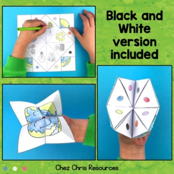 Cootie Catchers / Fortune Tellers - Earth Day