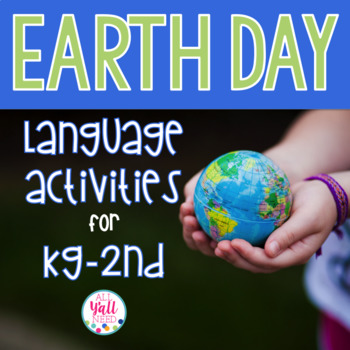 Earth Day for Speech & Language Therapy - Younger Elementary