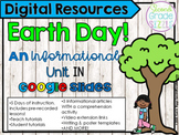 Earth Day in Google Slides (Distance & Online Learning)