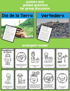 Earth Day in Spanish, World, Earth, Recycle, Reuse, Reduce