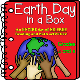 Earth Day in a Box!  An ENTIRE Day of NO PREP Reading and Math!