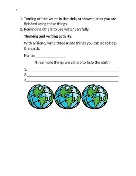 Earth Day packet