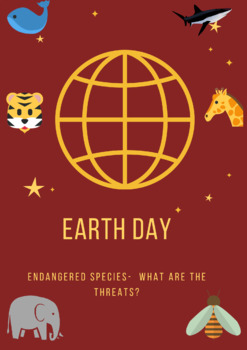 Earth Day -reading comprehension and activities